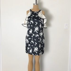 Check out this NWT AMUR silk floral dress!